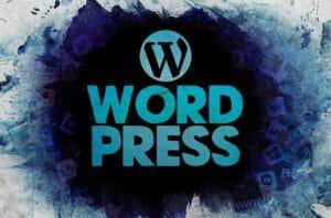 WordPress fancy logo