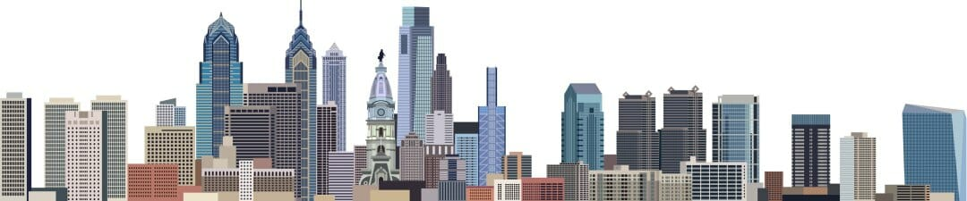 Philadelphia Graphic Skyline
