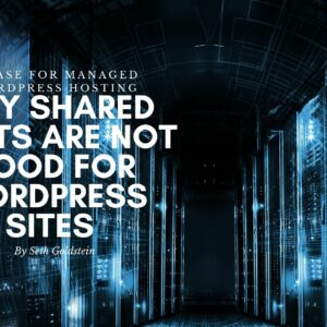 Why Shared Hosts Are Not Good For WordPress Sites