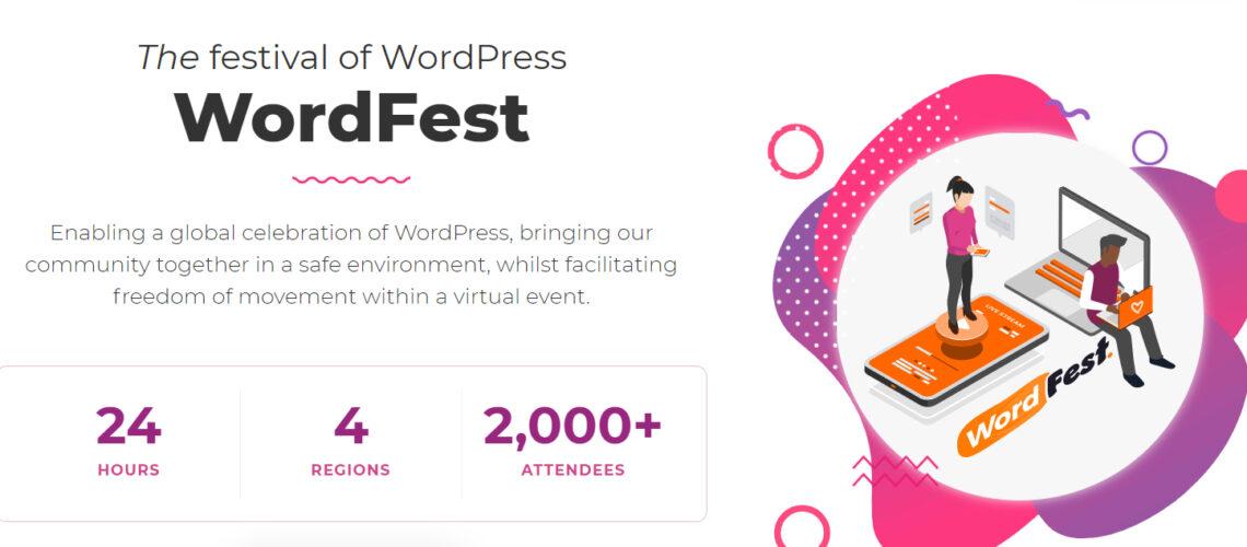 WordFest 2021 Stats Hero