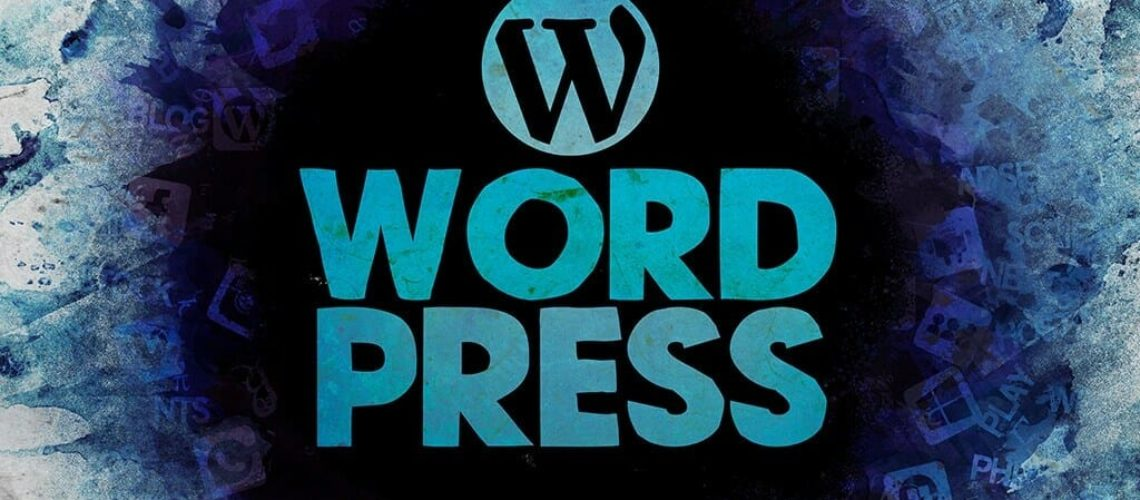 WordPress fancy logo